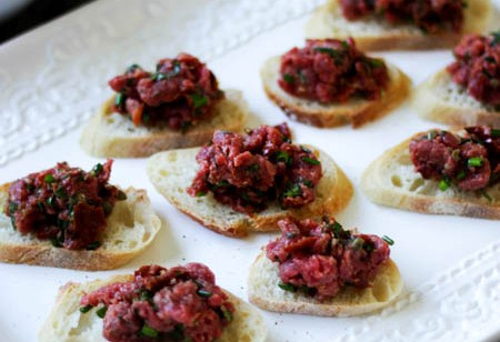 Tartare boeuf tomates 3